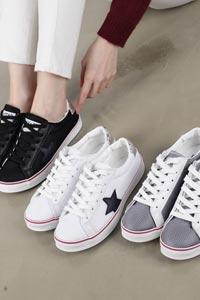 星がポイントの女性用カジュアル靴 Mash 6