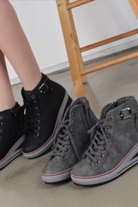 7cm 女性ウェッジヒール運動靴 Lax