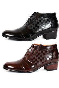 コーデのポイントとしてぴったりな男性ブーツ! NewSense 紐