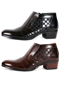スタイリッシュで高級感ある男性用ブーツ! NewSense Slip