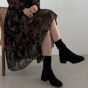 秋冬にぴったりな女性ミドルブーツ Pery