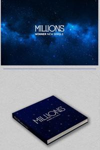 [ランダム] Winner / Millions (New Single/White Blue ランダム)/K-POP/CD