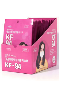 KF94 韓国産 成人用 50枚/口ばし型でより楽な呼吸を 韓国マスク,大人マスク,大型,白マスク